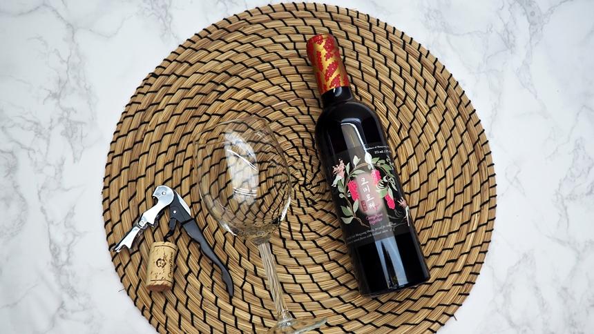 오미로제T 와인